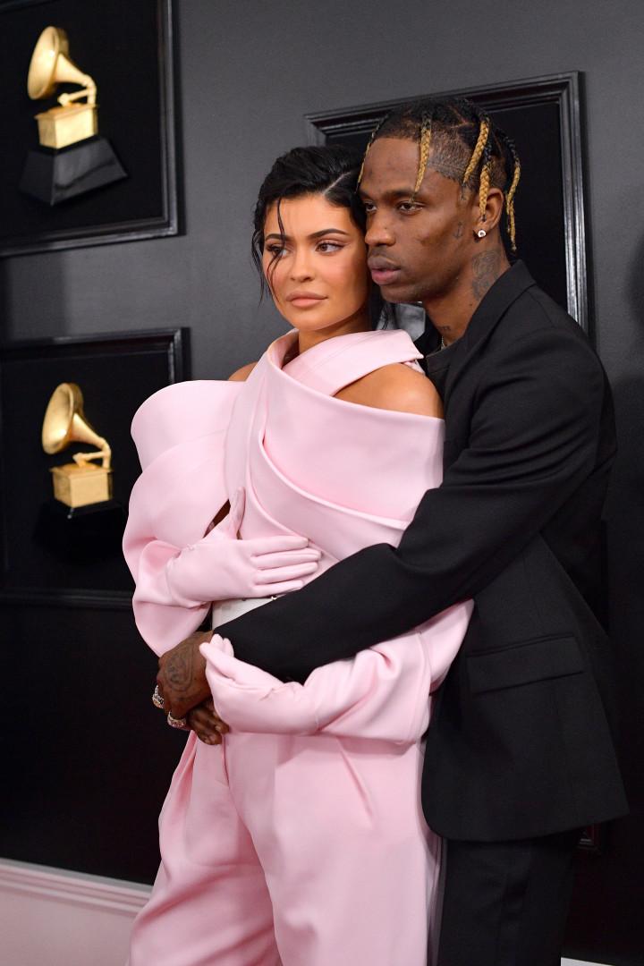 Kylie Jenner e Travis Scott: O casal do momento também foi aos Grammy