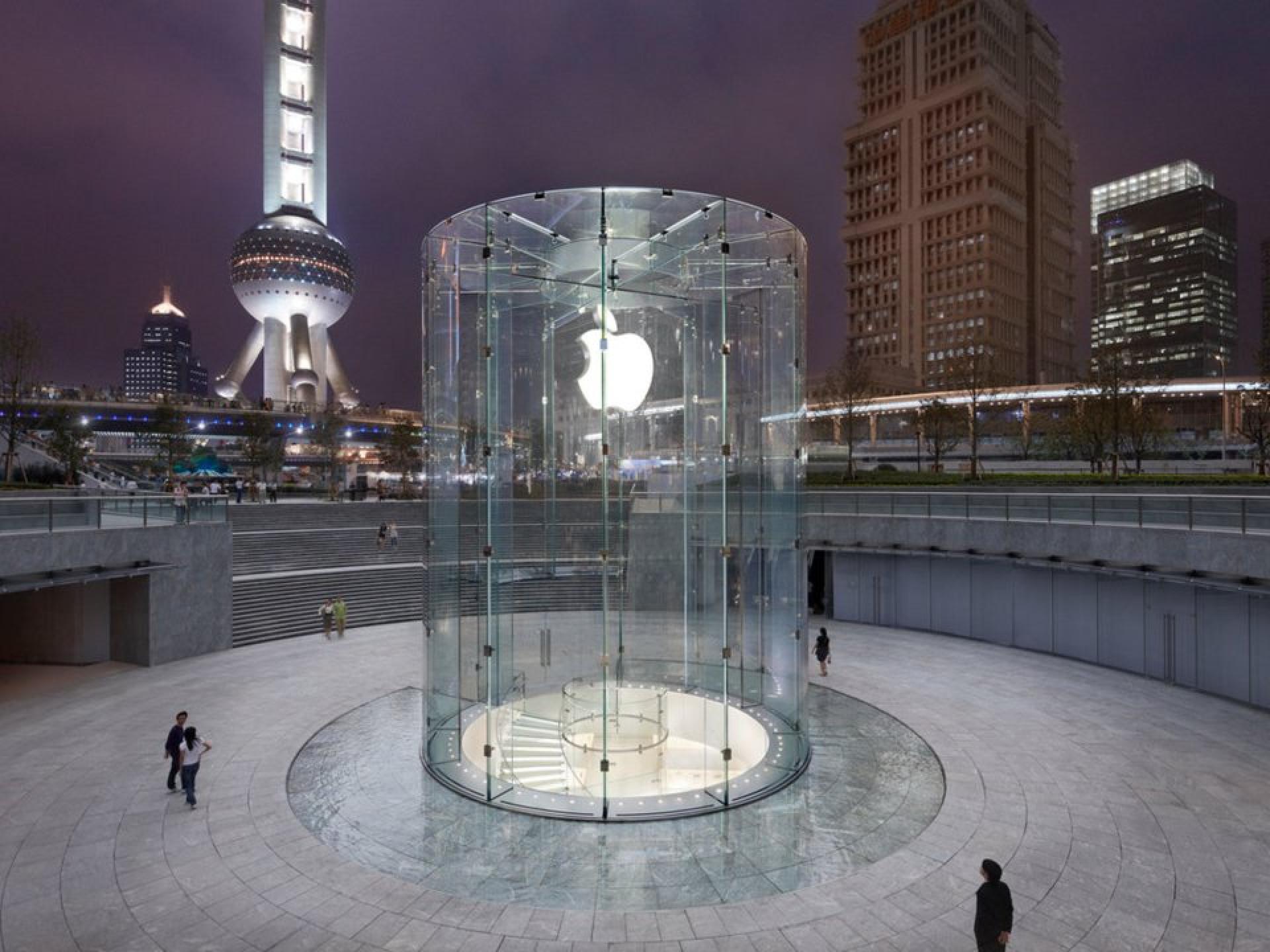 Conheça as lojas mais bonitas da Apple