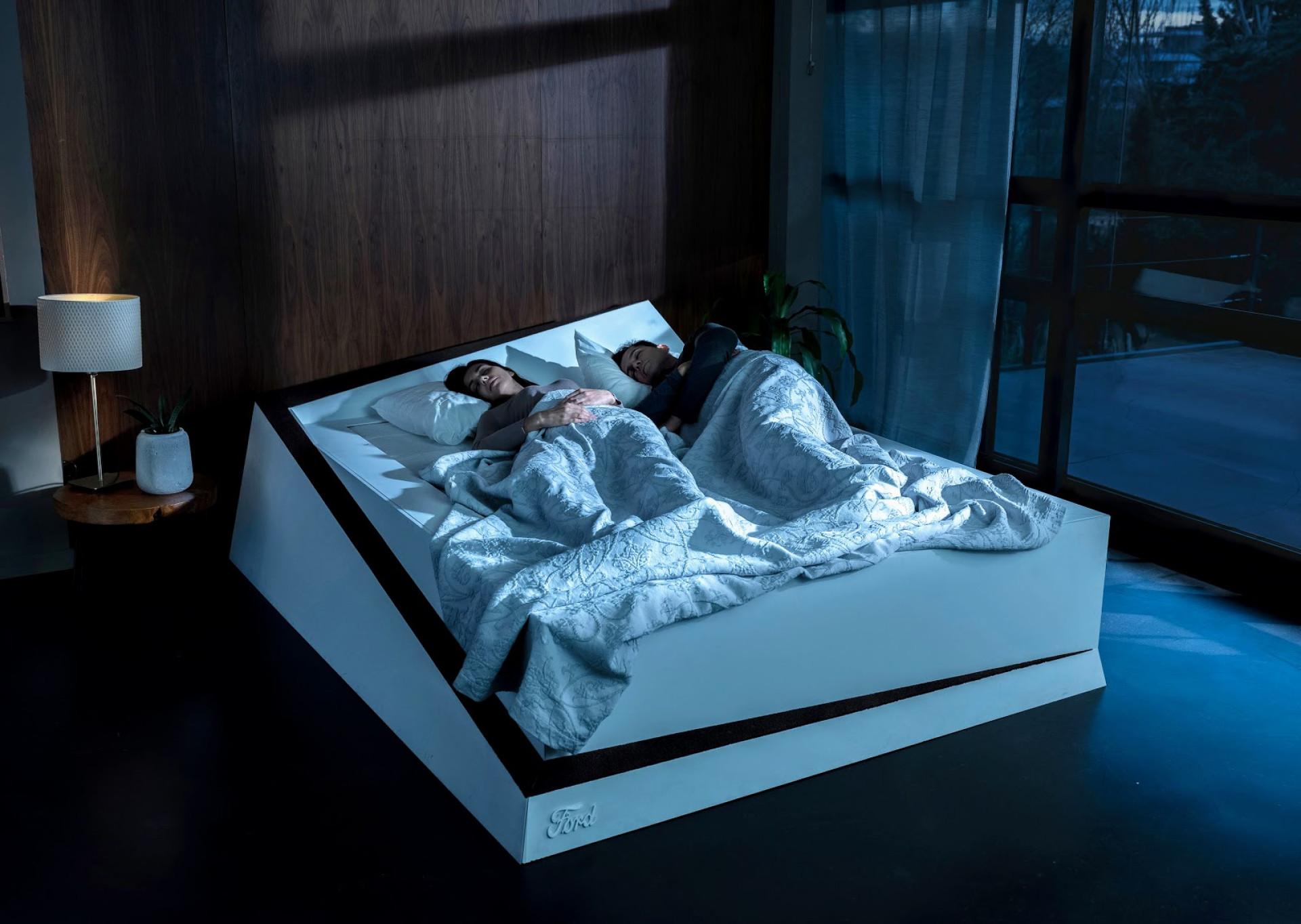 Sem espaço na cama? A Ford quer resolver-lhe o problema