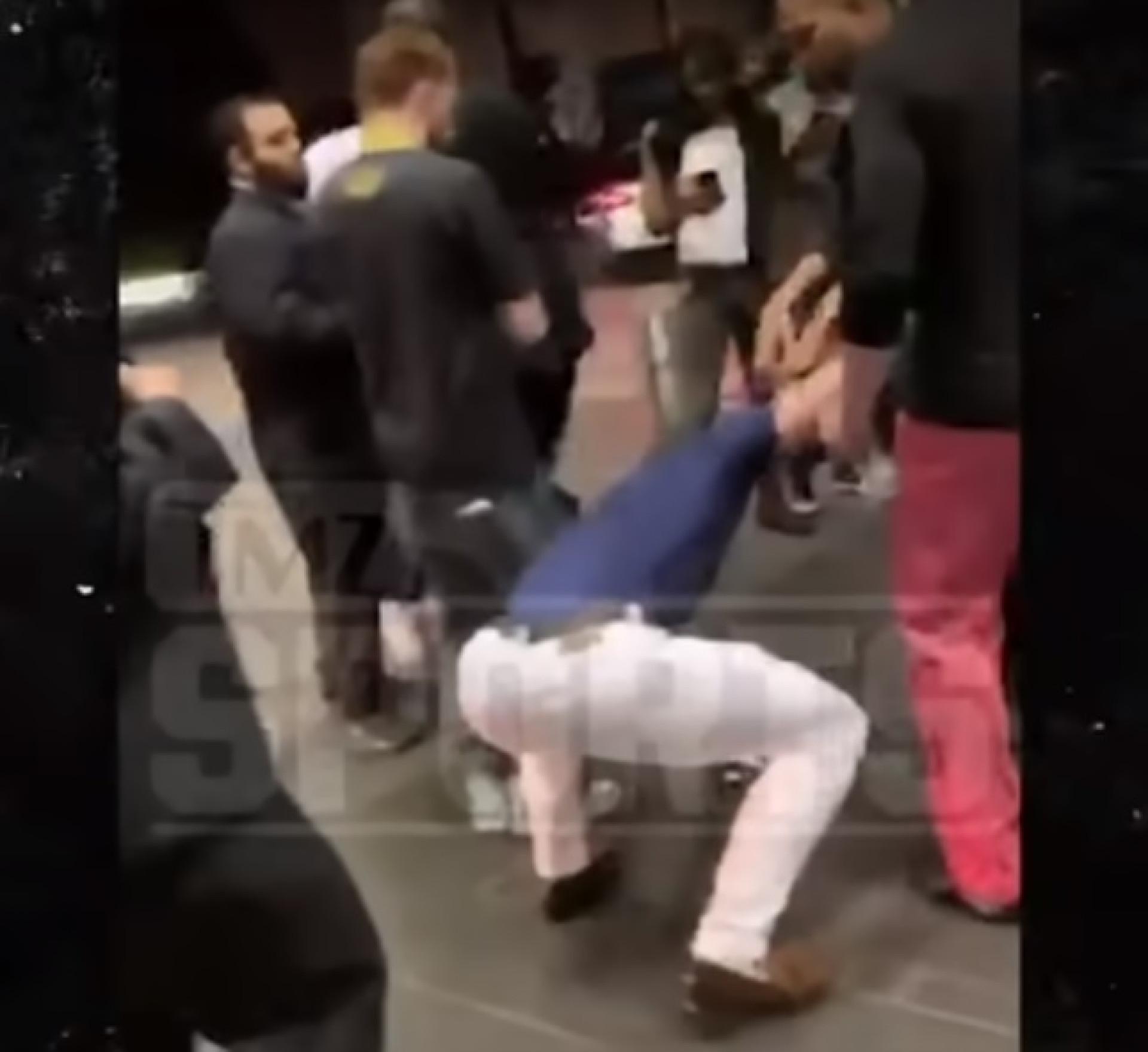McGregor foi detido e as imagens mostram o porquê