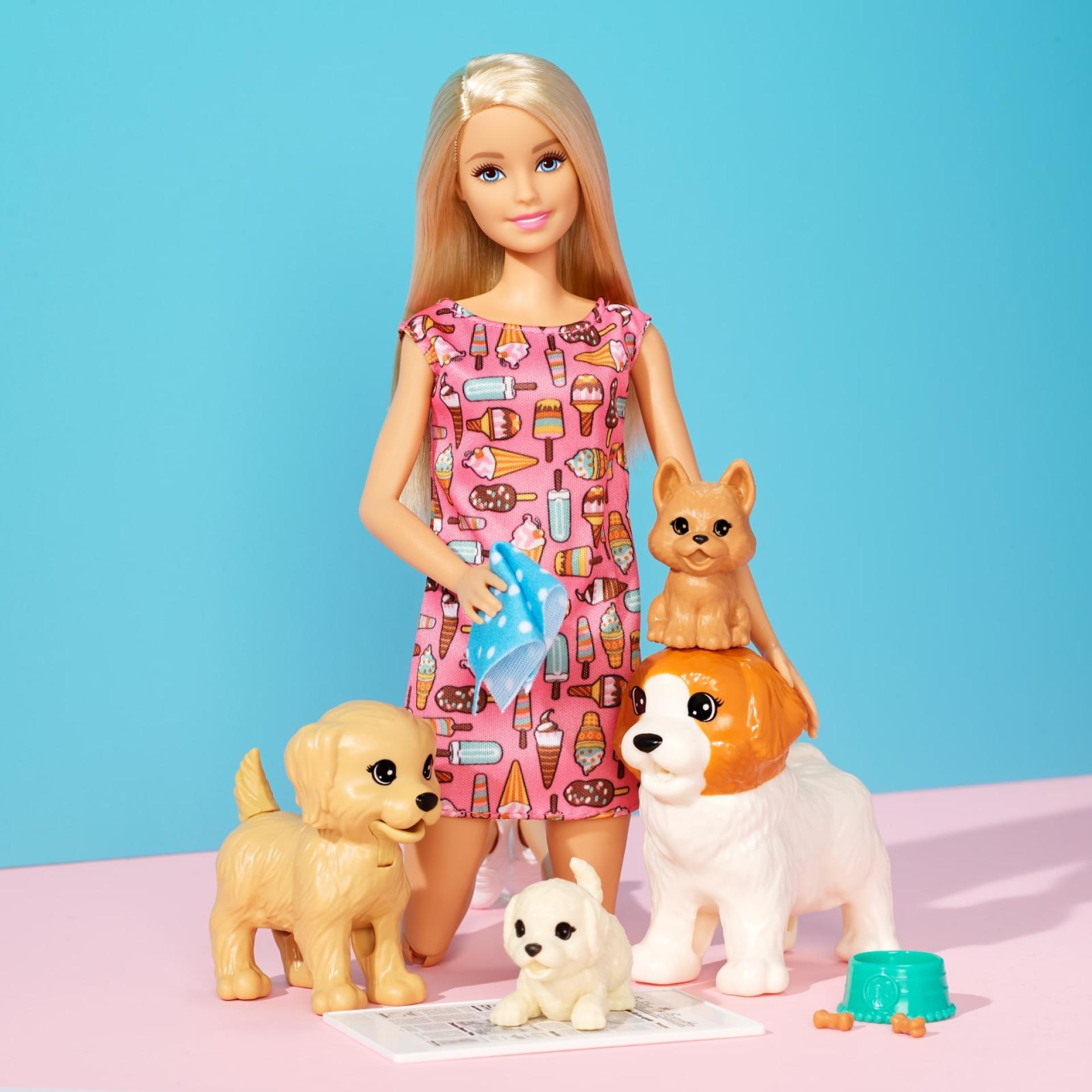 O Dia da Criança é quando a Barbie e a Mattel quiserem