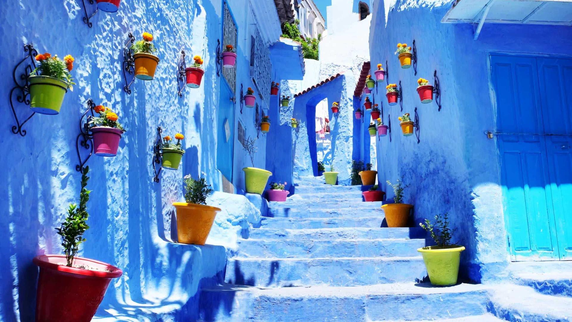 Pérola azul: A origem das fascinantes cores de Chefchaouen