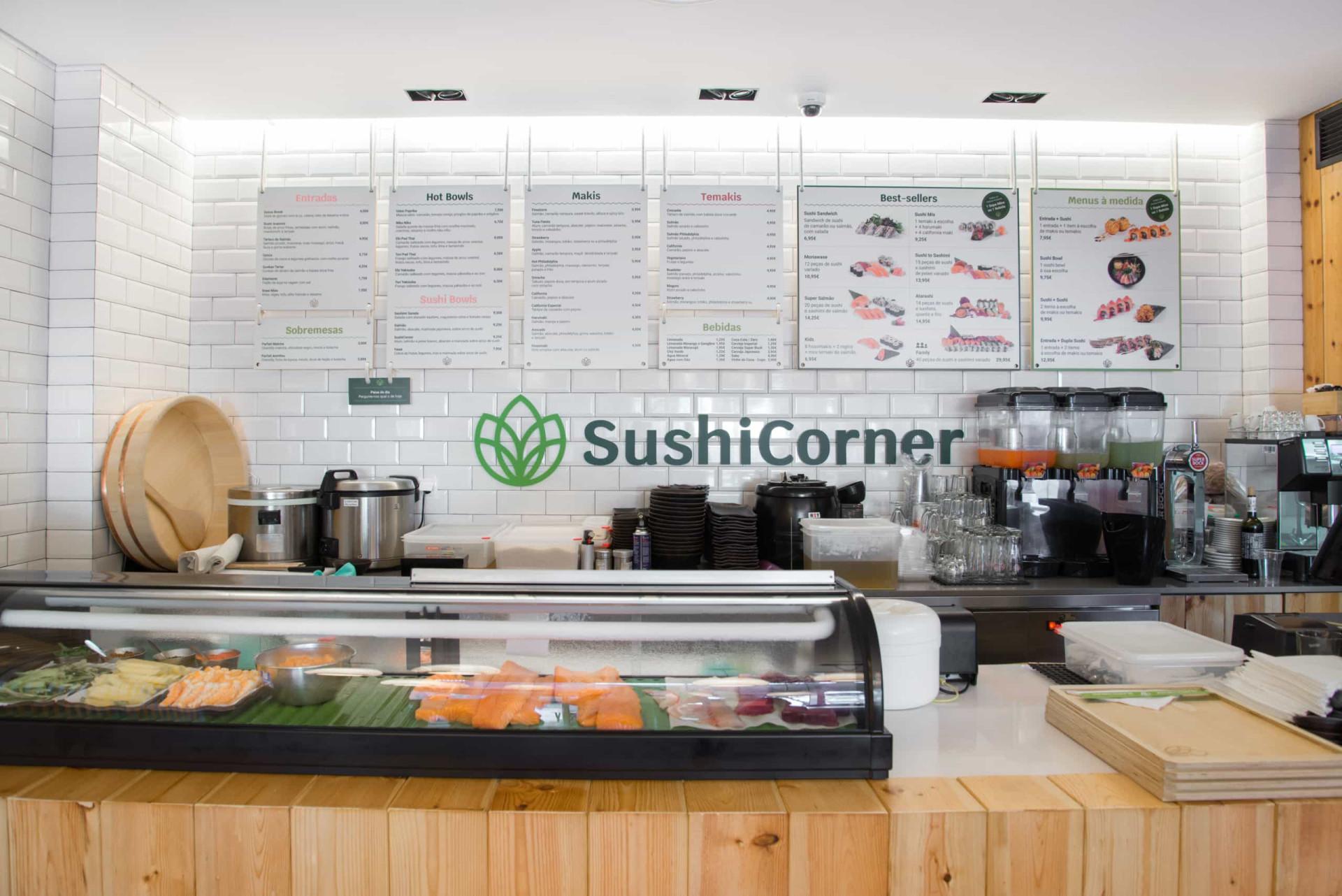 SushiCorner abre primeira loja de rua com nova carta