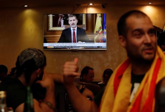 Rei de Espanha faz declaração ao país às 20h