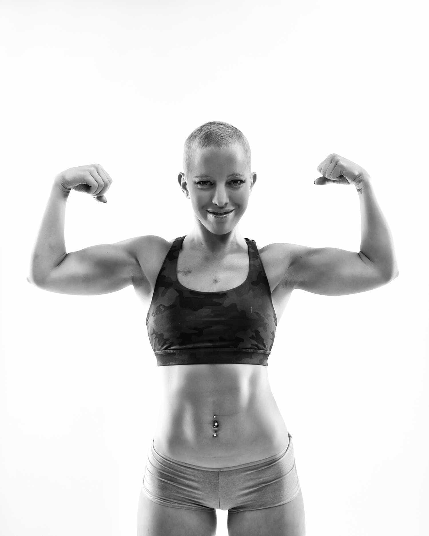Tem cancro aos 24 anos mas luta pela vida e agarra-se ao exercício