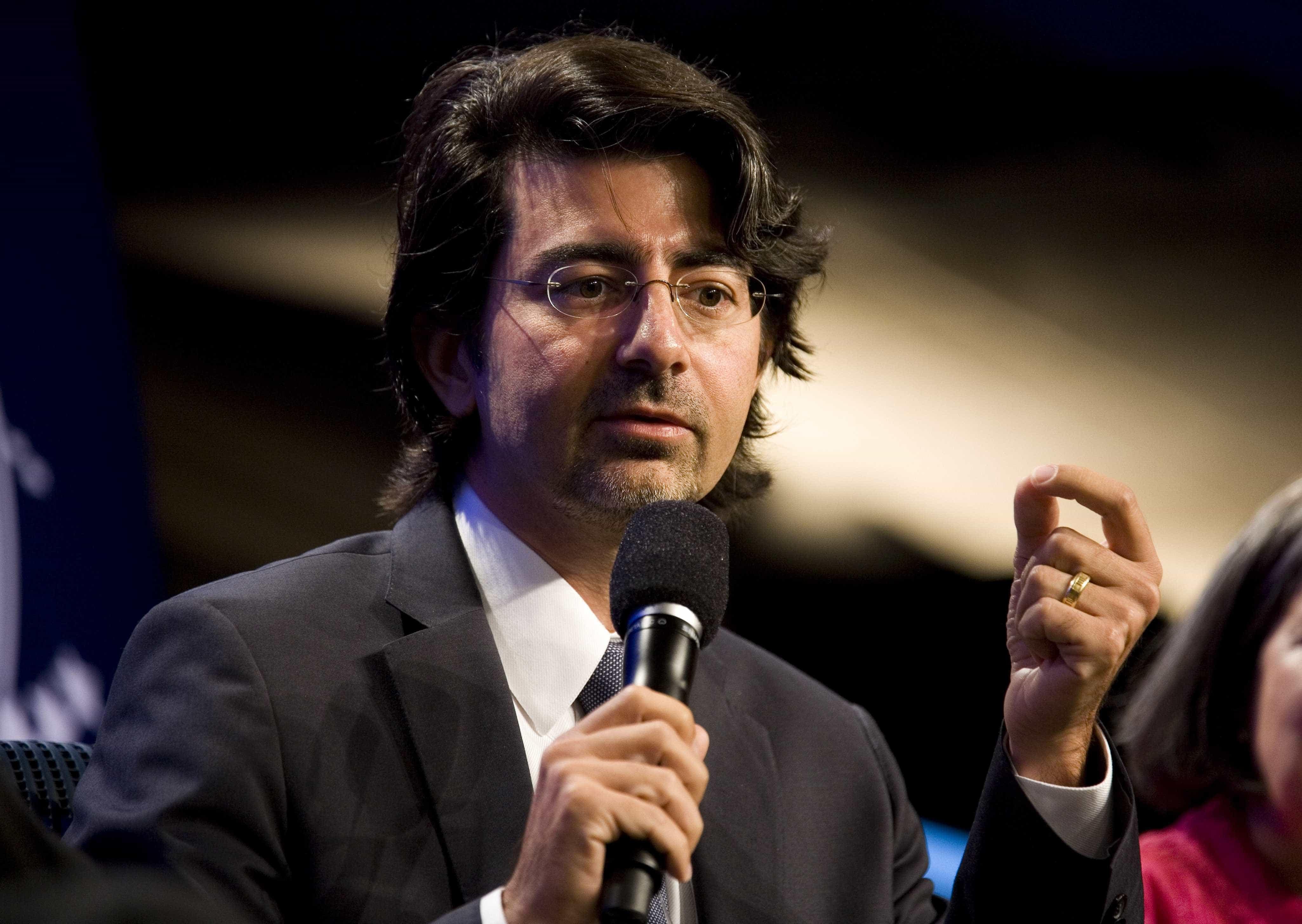 Pierre Omidyar (fundador do eBay)  -