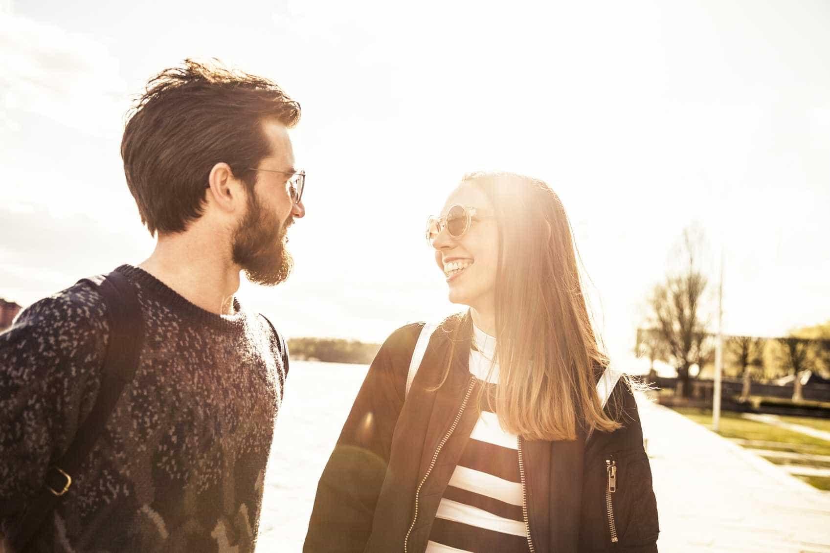 Vinte sinais de que têm tudo para ser um bom casal