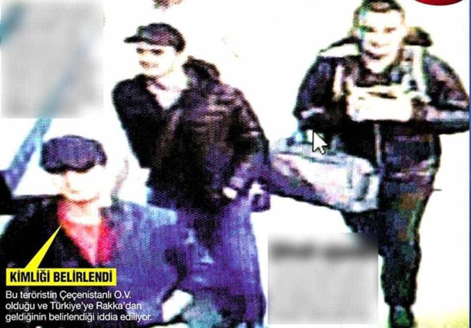 Divulgada imagem dos possíveis bombistas de Istambul