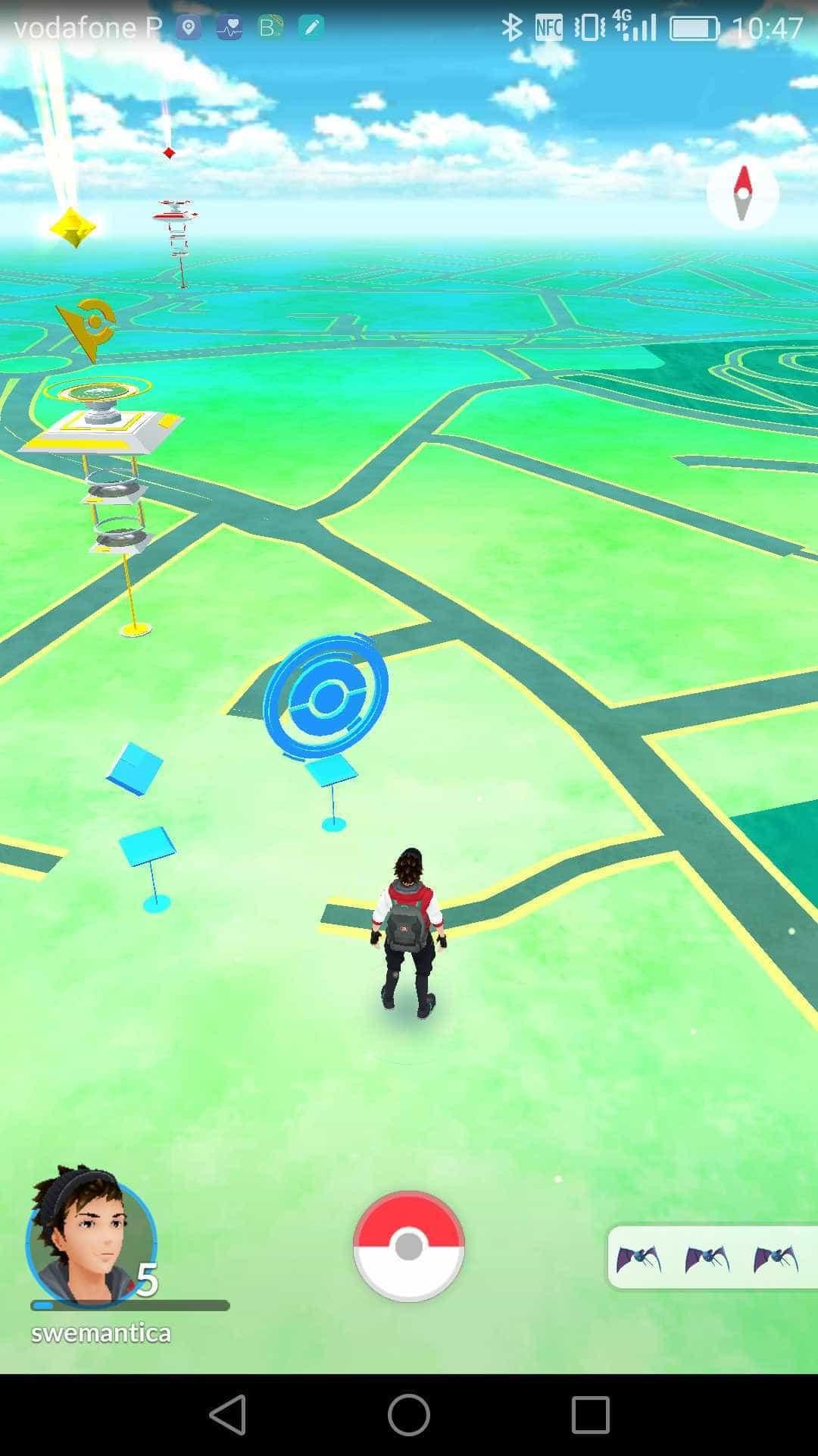 Resultado de imagem para mapa pokemon go portugal