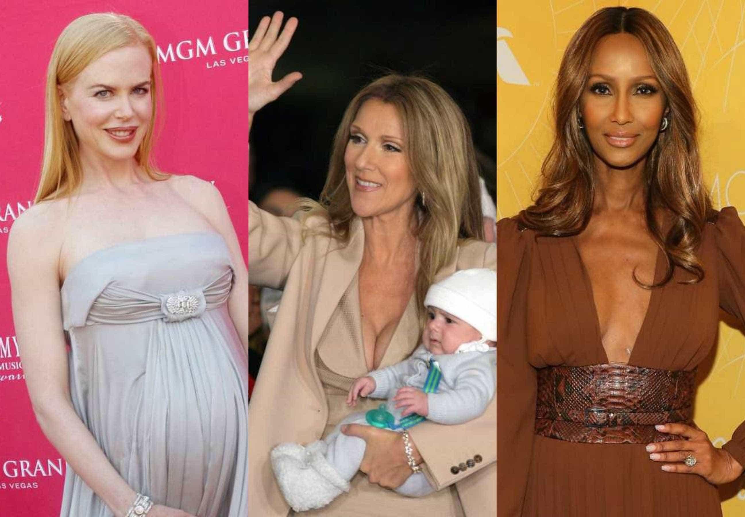 As famosas que foram mães após os 40 anos -