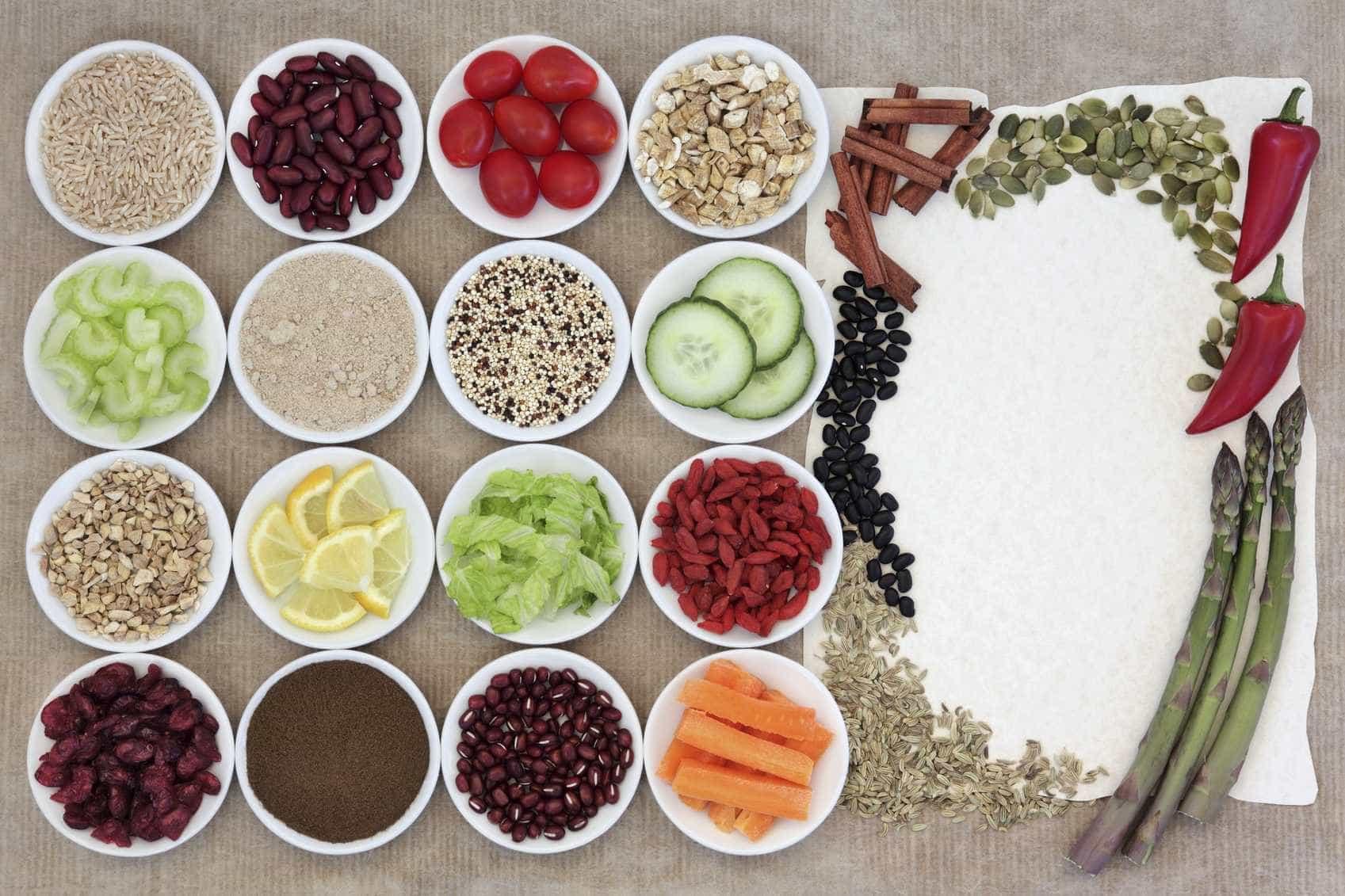 Estes alimentos têm poucos hidratos de carbono -