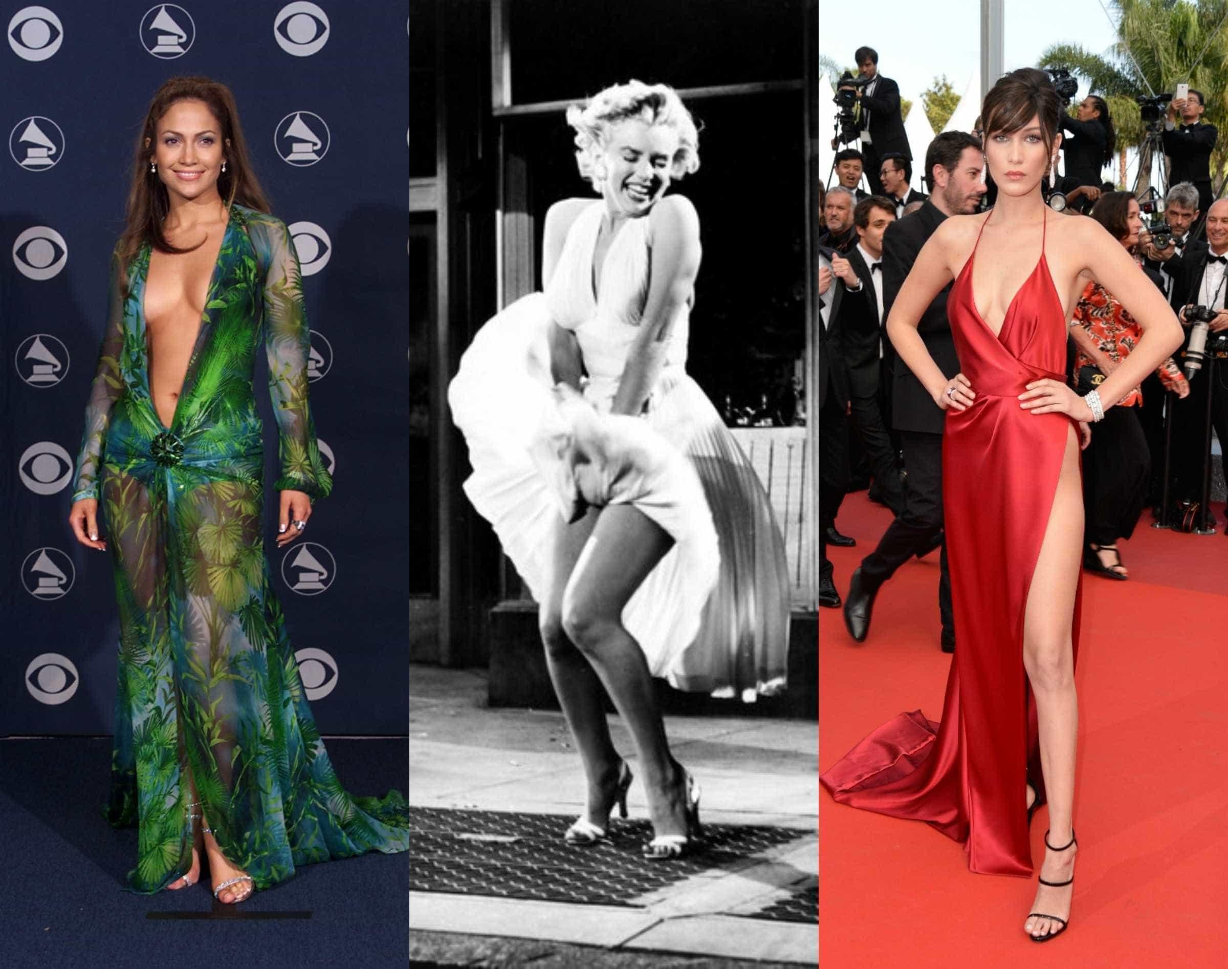 Os vestidos mais escandalosos da história -