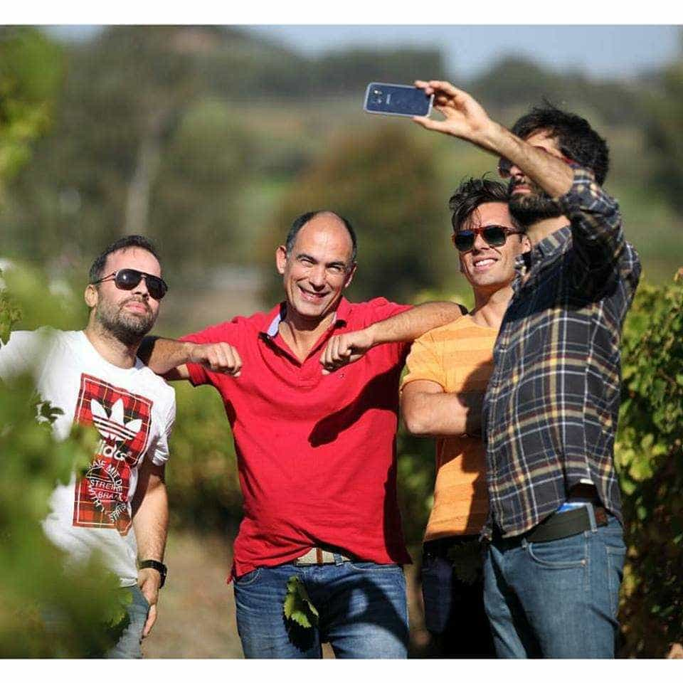 Três amigos, '3 Podas'. O vinho de Raminhos, Borges e Pedro Fernandes