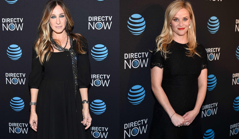 Reese Witherspoon e Sarah Jessica Parker 'brilharam' na passadeira vermelha -