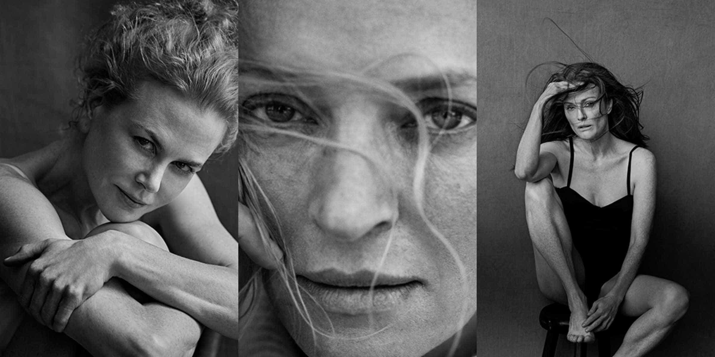"A ""beleza real"" na pele de Uma Thurman, Julianne Moore e Nicole Kidman -"