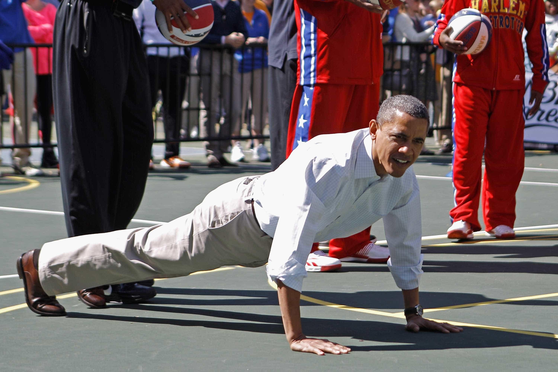 Como é que os presidentes dos EUA mantêm a forma?