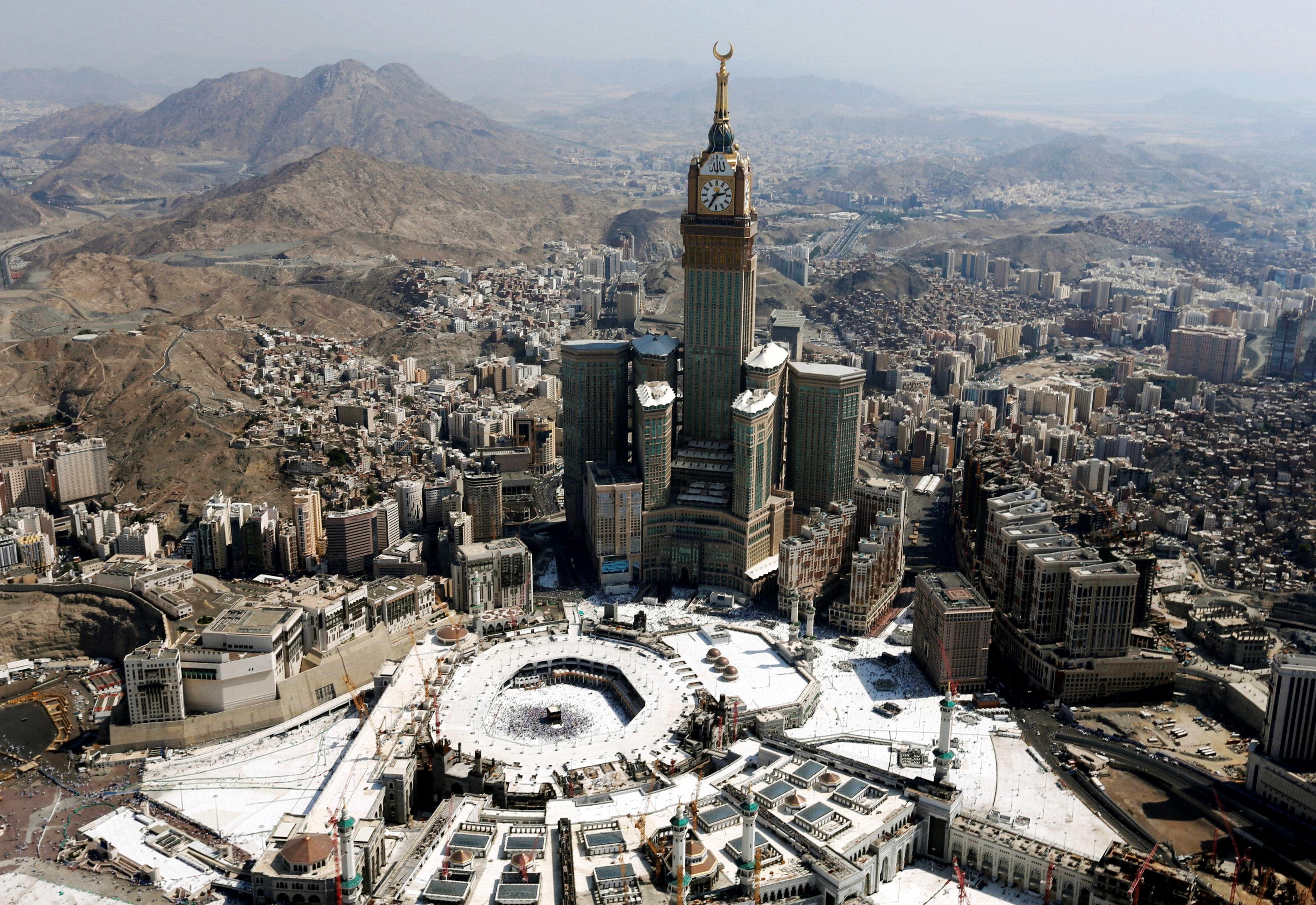 15º - Meca, Arábia Saudita
