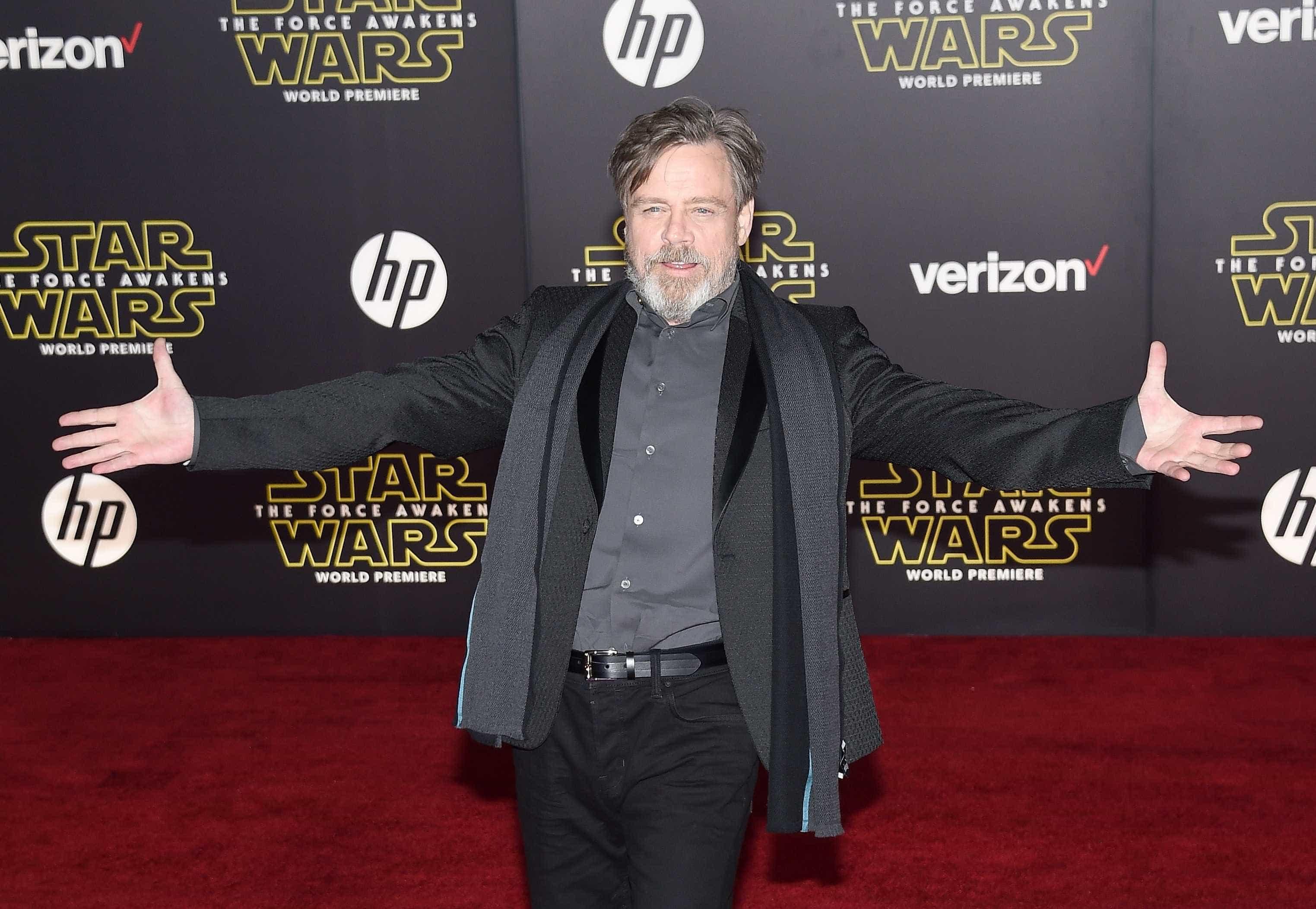 Mark Hamill publica a sua primeira foto de sempre como Luke Skywalker   -