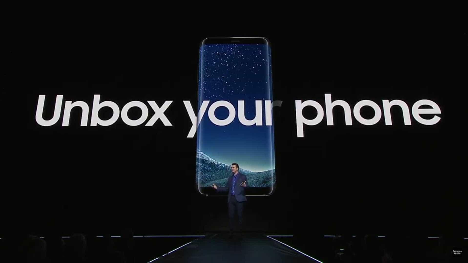 Galaxy S8 é oficial e o ecrã não deixará ninguém indiferente
