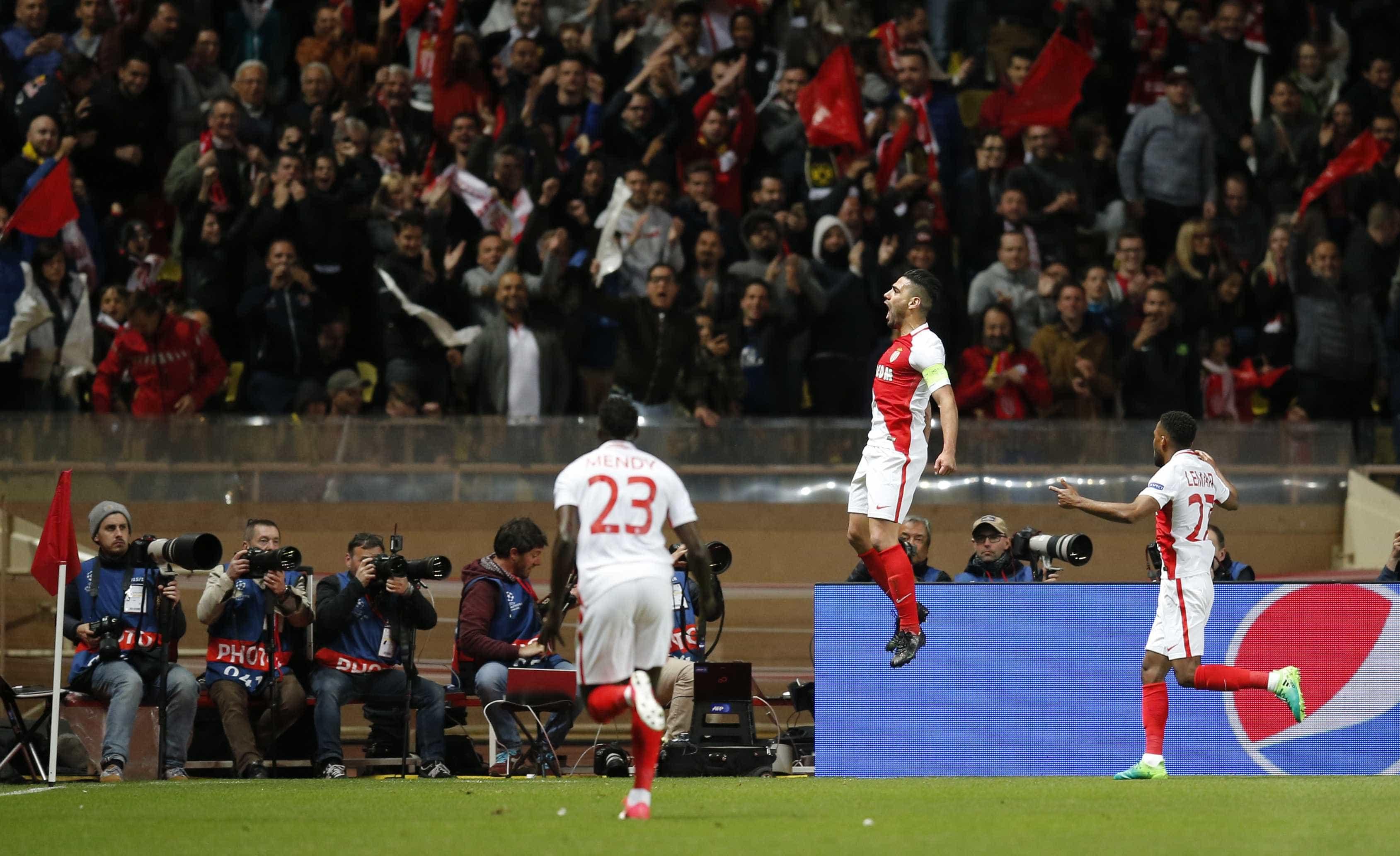 Monaco atropela Borussia de novo e volta à semi após 13 anos