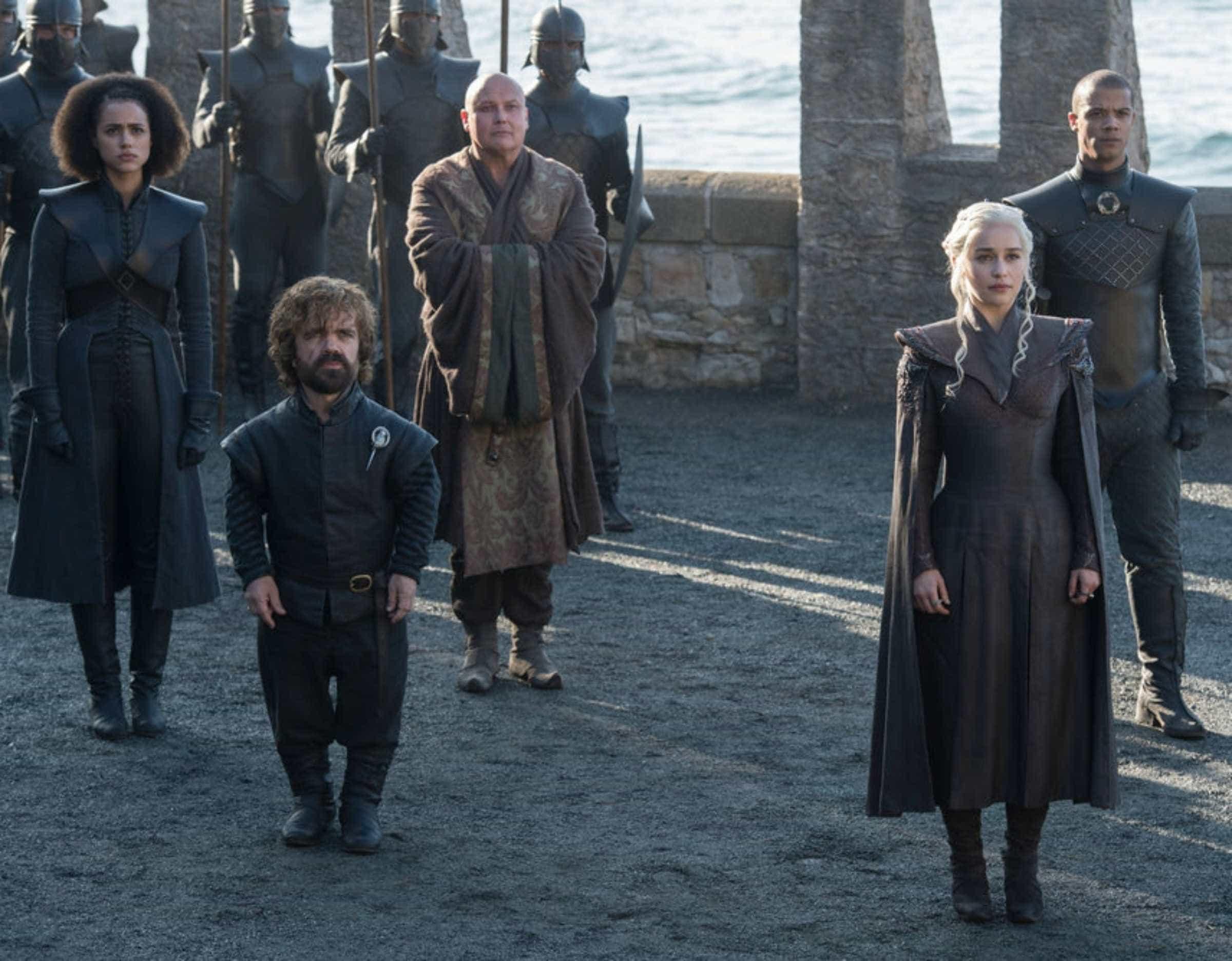 As primeiras fotos da sétima temporada de 'Game of Thrones'  -