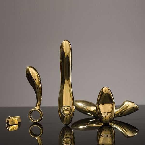 Ouro de 24 quilates e preço a condizer: Este vibrador é só para ricas