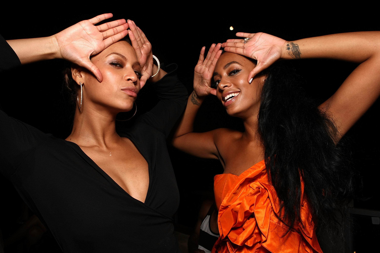 Beyoncé e Solange Knowles -