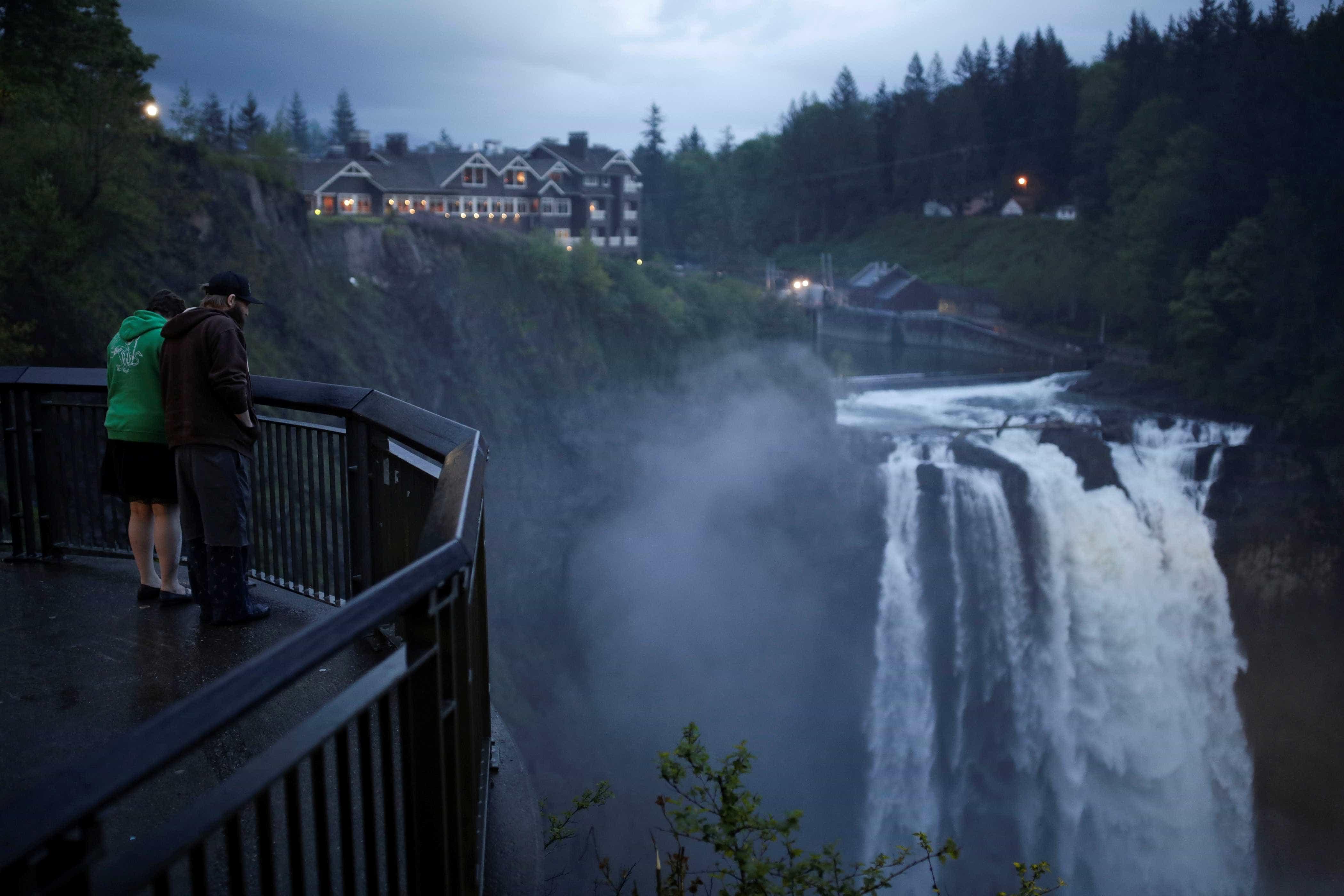 Uma mistura de várias cidades esta é a verdadeira'Twin Peaks